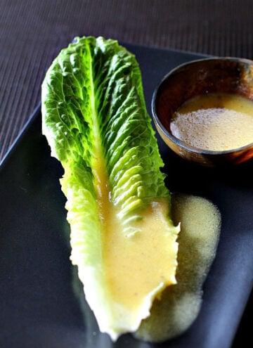 Ina Garten Creamy Mustard Vinaigrette. A perfect blend of mustard and goodness.