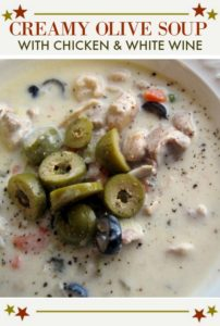 creamy olive soup