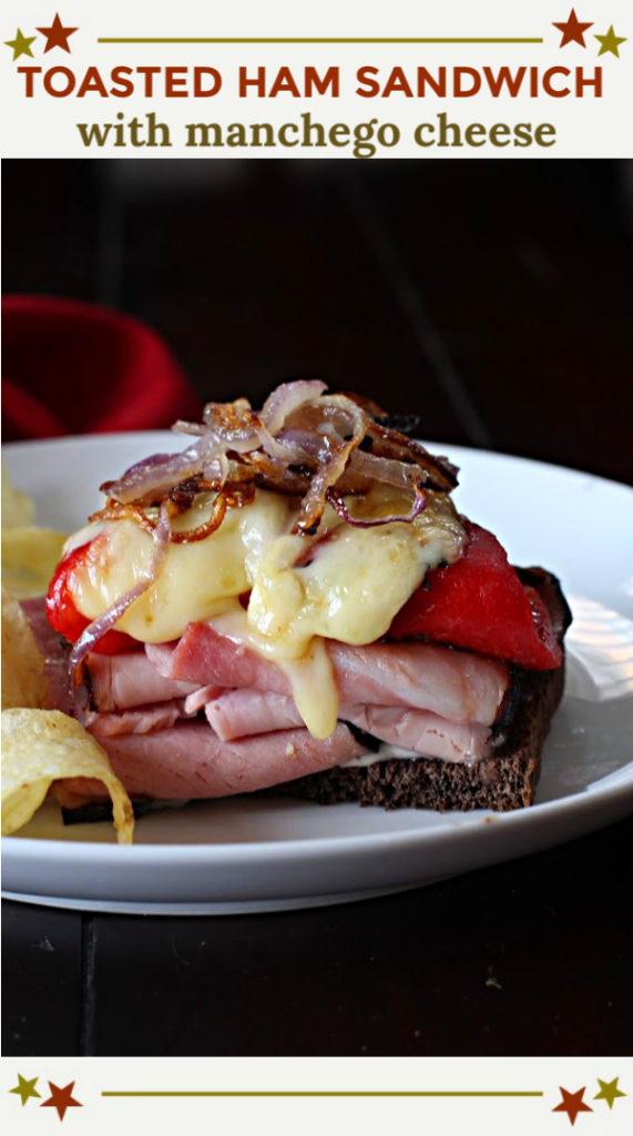 Ham and Manchego Cheese Sandwich