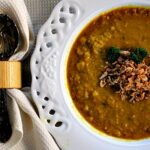 Turmeric Lentil Soup Recipe. Delicious, easy dinner idea and healthy. Healthy Soup Recipe.