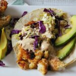 Crispy Fish Tacos with Hoisin Tarter Sauce