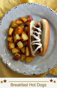 Breakfast Chicken Apple Sausage Hotdogs