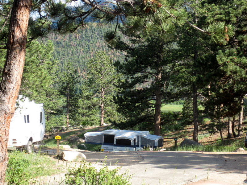 Photo of Moraine Park Campground, Rocky Mountain National Park
