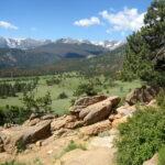Camping at Moraine Park, Rocky Mountain National Park, Colorado