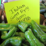 Spinach Sausage Stuffed Italian Sweet Frying Peppers