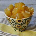 Easy Pickled Pineapple Chunks. A pickled pineapple relish recipe delicious on any meat.
