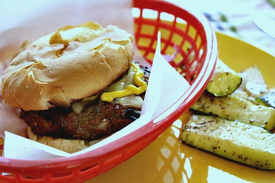 jalapeno Steak Sauce Burger, a great way to kick up those Summer grilled burgers.