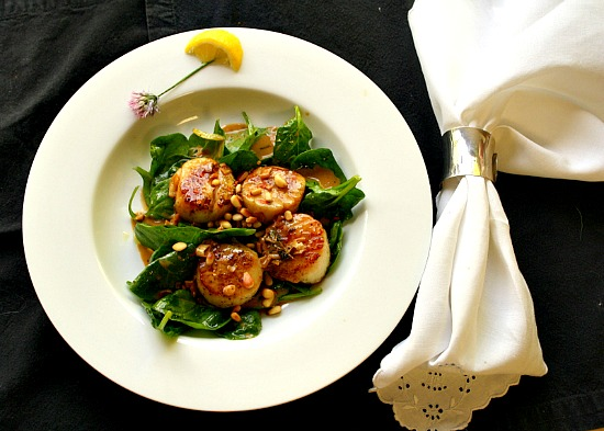 Scallops with Butter Recipe