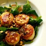 Seared Scallops with Pinto Gris Butter Sauce