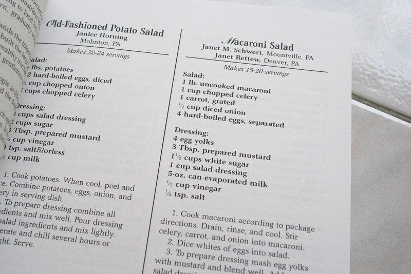 Recipe for old fashioned pasta salad
