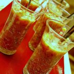 Spicy Gazpacho Shooters