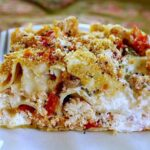 Chicken Lasagna with fresh tomatoes