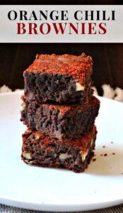 Orange Chili Chocolate Brownies