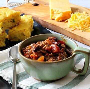 Award Winning Chili Recipe. With pinto beans, kidney beans and lots of wonderful surprises.