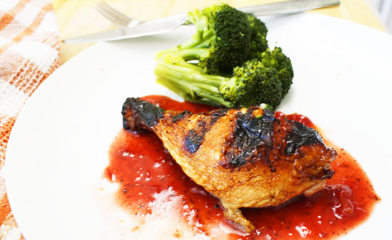 Cherry bbq sauce for smoked chicken for Side dishes to go with smoked chicken