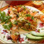 Shrimp and Mahi Mahi Kabobs with Jalapeno Butter