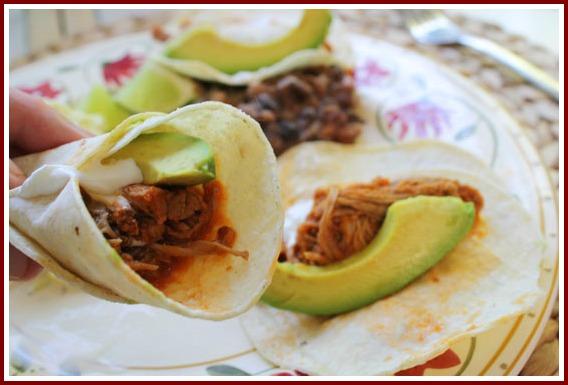 Pork Roast Tacos in the Crockpot