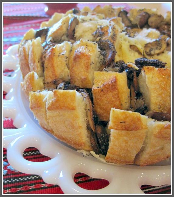 Highlands Ranch Food: Mushroom Bread Appetizer Recipe
