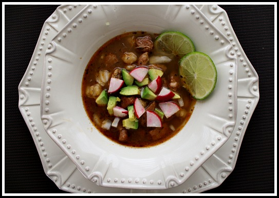 Colorado Posole Soup. A hearty Mexican soup recipe