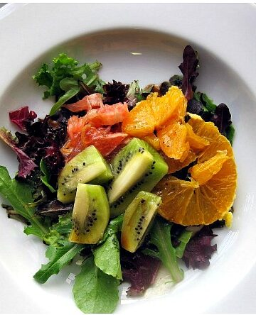 Citrus Salad with Greens