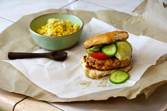 Chicken Chorizo Burger