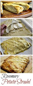 Rosemary Potato Strudel