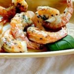 Grilled shrimp recipe with basil and butt4er