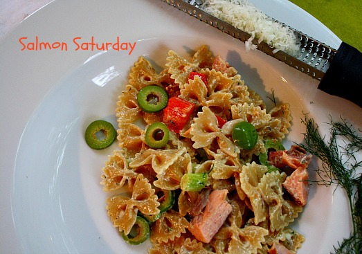 Smoked Salmon Pasta Salad with Dill - Cooking On The Ranch