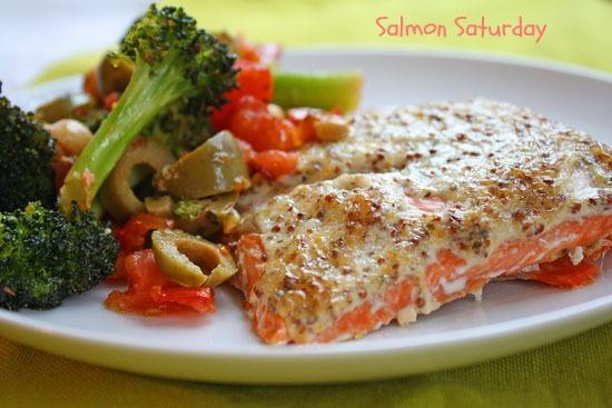 Mustard Tarragon Salmon