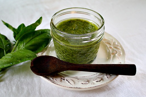 Pesto and Pine Nut Basil Recipe