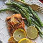Lemon Lime Salmon with Lemon Butter