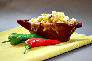Hatch Green Chile Macaroni and Cheese