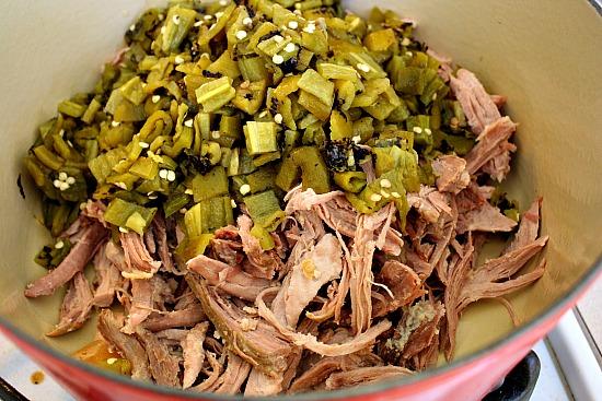 How to make Hatch Green Chili with Pork. Colorado recipe.