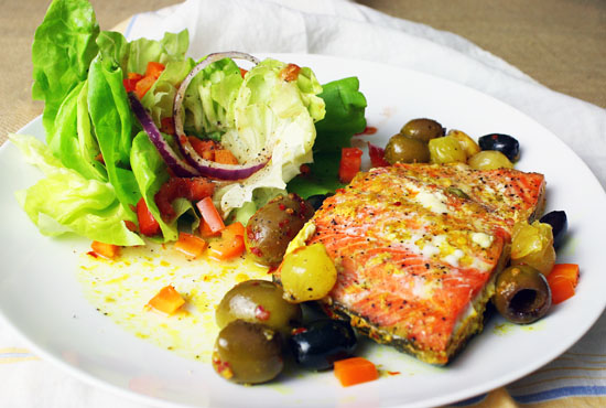 Easy poached salmon recipe