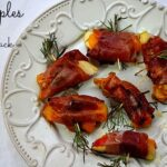 Holiday Appetizer Recipe with apples and pancetta