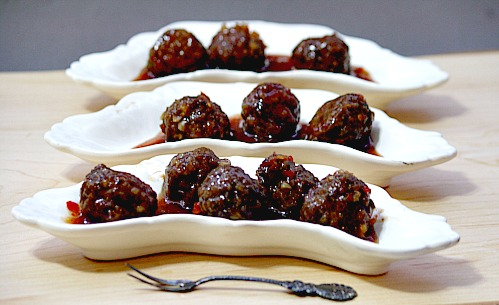 Meatballs Appetizer Recipe