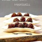 Grape Jelly Meatballs