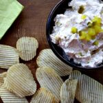 Pickle Dip and Potato Chips