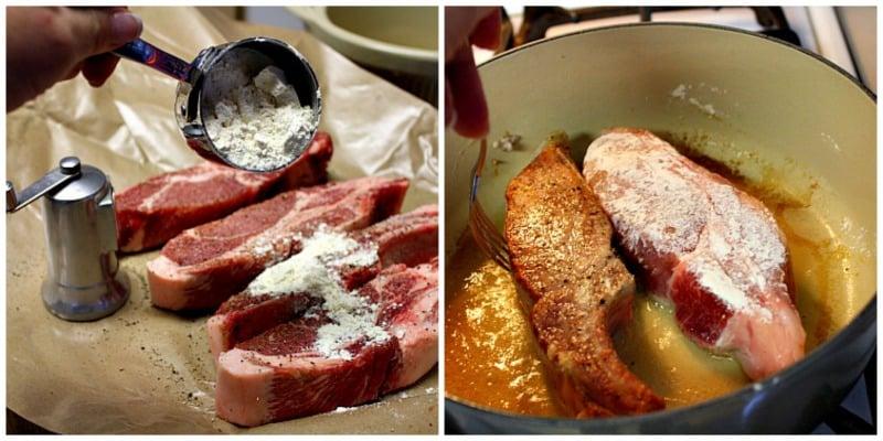 Preparing ribs for crockpot
