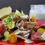 Sweet Pork Tostada