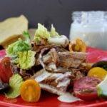 Cafe Rio Sweet Pork Tostada