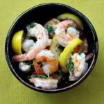 Easy Lemon Butter Baked Shrimp Recipe.