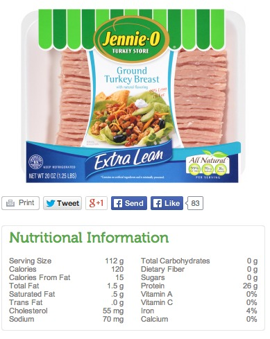 Save On Foods Nutritional Information