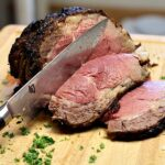 Cooking a prime rib roast for 2 or 4 people. Instructions for cooking a 4 rib small prime rib.