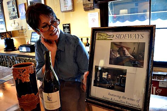 Wine featured in Sideways