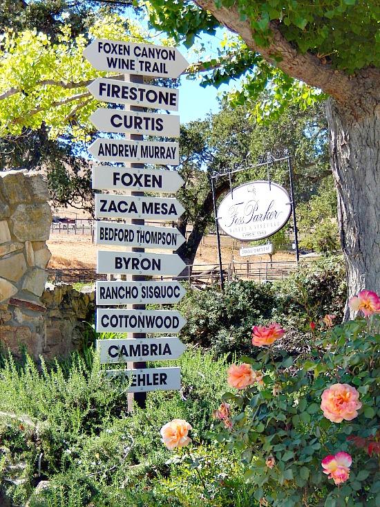 List of wineries in Santa Barbara Wine Country