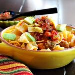 Sausage Noodle Mexican Breakfast Casserole