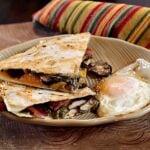 Recipe for Breakfast Quesadilla