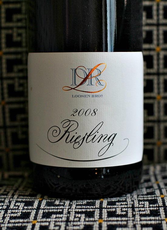 bottle of 2008 Dr. Loosen Reisling