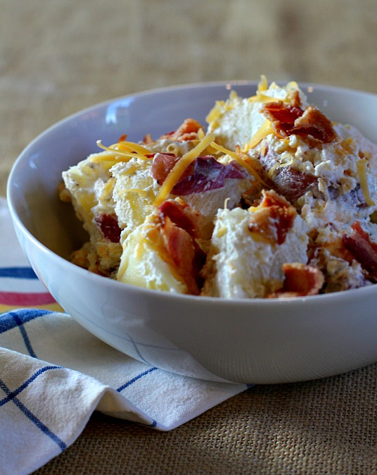 Perfect potato salad for a picnic